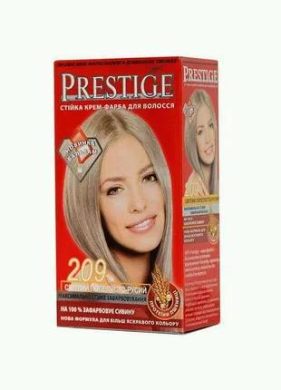 Стойкая крем краска Prestige №209 Пепельно-Русый