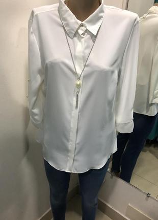 Белая блузка esay
