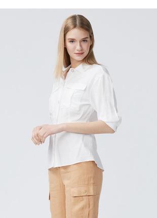 Белая рубашка dilvin