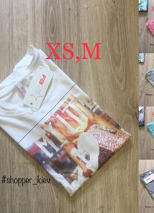 Распродажа женская футболка fb sister (new yorker)