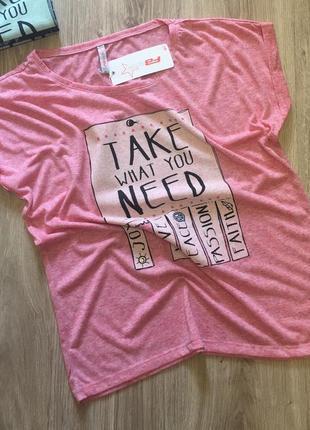 Лёгкая женская футболка fb sister от new yorker