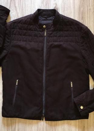 Мужская замшевая куртка от armani
