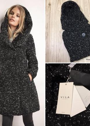 Женское пальто с капюшоном от vila clothes