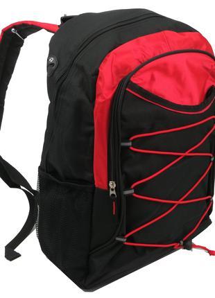 Спортивный рюкзак 20 L Corvet, BP2030-58 черный с красным