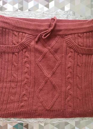 Вязаная юбка terranova
