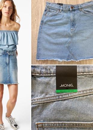Джинсовая юбка от monki