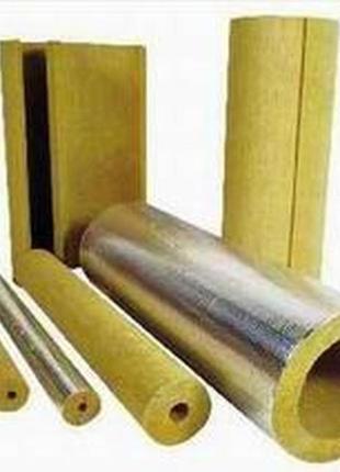 Базальтовая скорлупа (полуцилиндры) для теплоизоляции