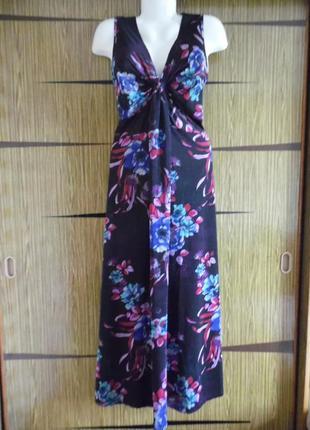 Платье «в пол» , лето f&f размер 16 – идет 50-52.
