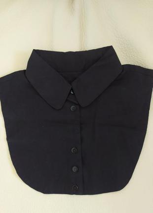 Черный воротник под свитера и платья