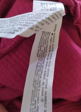 Теплая розовая юбка мини