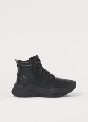Высокие кроссовки н&м