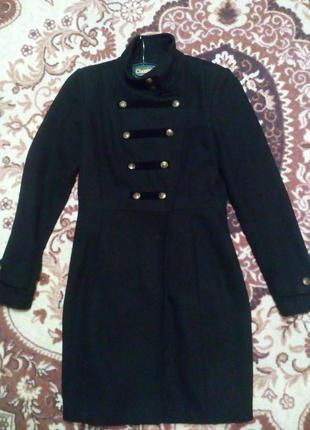Кашемировое пальто top secret