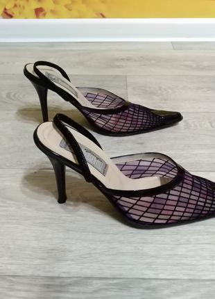 Женские босоножки на каблуке Giorgio Piergentili (Италия)