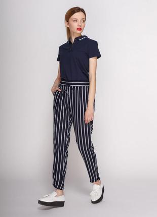 Актуальные брюки в полоску , штани в полоску, брюки