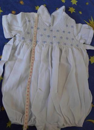 Платье-боди, песочник baby club