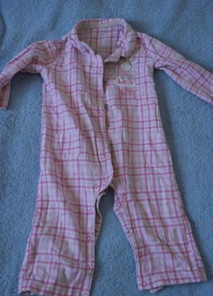 Ромпер пижама комбинезон человечек