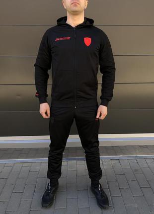 Мужской спортивный костюм, костюм мужской puma , модный костюм...