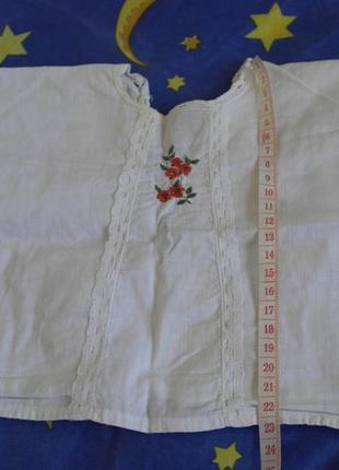 Распашонка с вышивкой