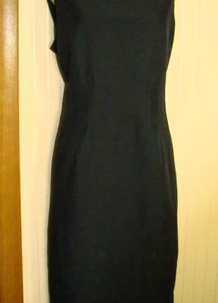 Платье футляр женское, деловое, черное f&f