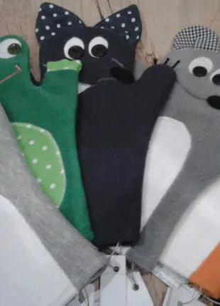 Игрушки на руку,куклы-перчатки,кукольный театр