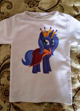 Двухслойная футболочка my little pony