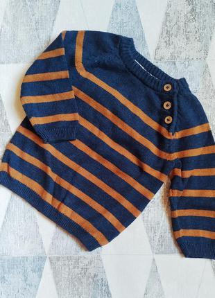Отличный детский свитер до года.