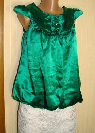 Блузка женская зеленая на подкладке new look