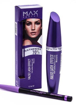 Набор 2 в 1 тушь max factor false lash effect + карандаш