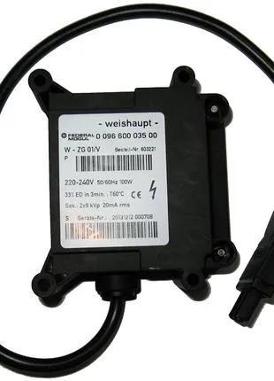 Высоковольтный трансформатор Weishaupt W-ZG 01