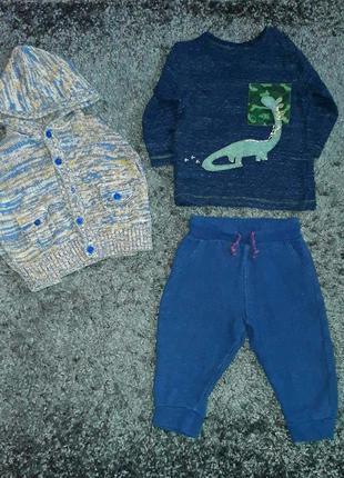 Брендовая одежда на мальчика 6-12м