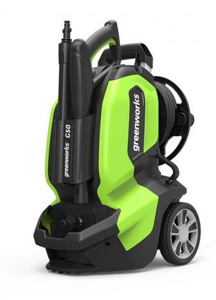 Мойка высокого давления Greenworks G50 2200W 145 Bar, Black/Green