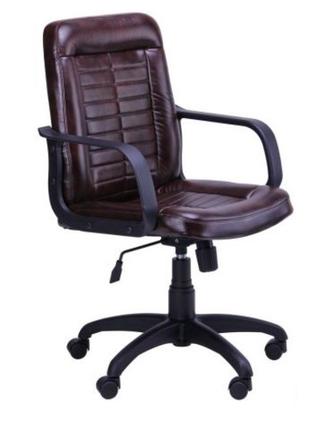 Кресло офисное Нота коричневый