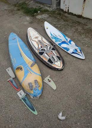 Доска Виндсерфинг windsurfing F2 JP Bic Quatro Maui Project