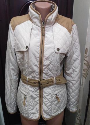 Zara! демисезонная стёганая куртка