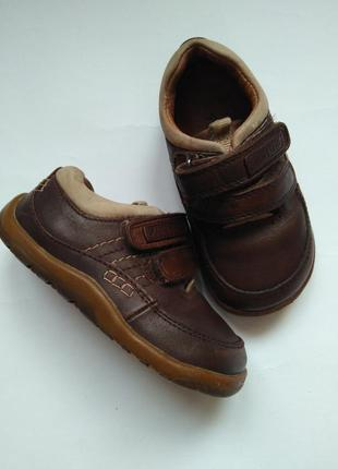 Мокасины туфли кроссовки на липучках туфли 22 размер 15 см
