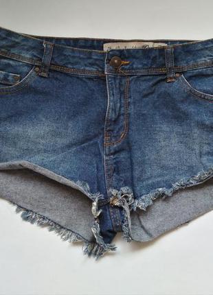 Короткие джинсовые шорты м-л размер для тверка