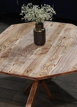 Экслюзивный обеденный стол из ясеня!