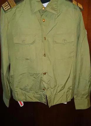 Рубашка военная тематика.