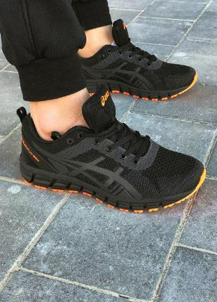 Кроссовки для спорта asics gel-quantum черные