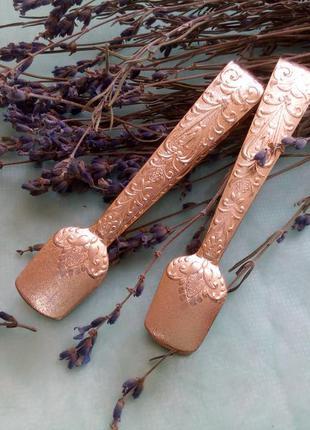 Щипчики для кускового сахара ссср щипцы, анодированный алюмини...