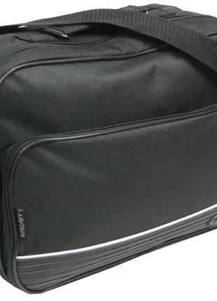 Тканевый портфель-сумка мужская Wallaby 2641 черная