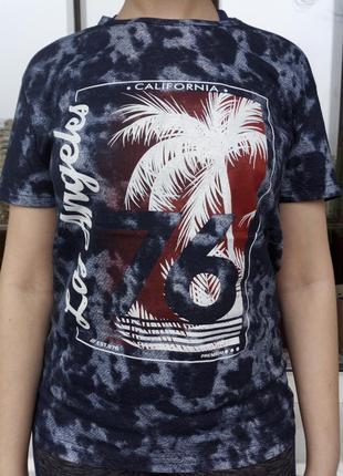 Подростковая футболка с принтом