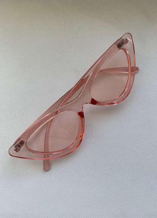 Очки прозрачные в стиле gucci, новые!