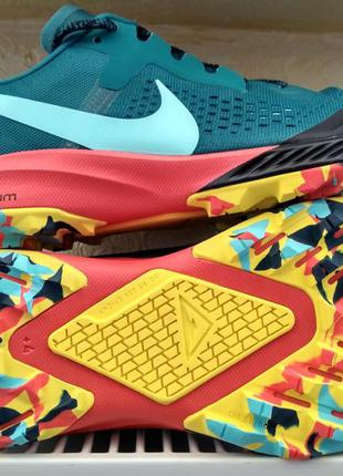 Кроссовки nike air zoom terra kiger 5 multicolour turquoise (4...