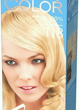 Гель-краска Estel Quality Color (Vital) тон яркий блондин 118
