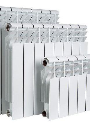 Радиаторы Алюминиевые и Биметаллические высокого давления.
