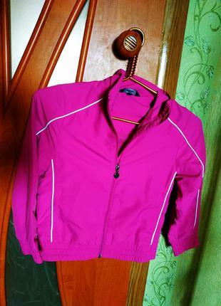 Фирменная куртка, ветровка на девочку crane, 128 размер