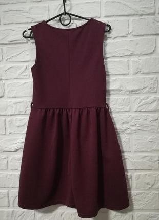 Платье фактурное приталеное красивое