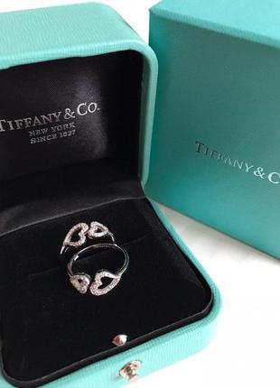 Кольцо сердце в стиле tiffany&co❤💋😍💕