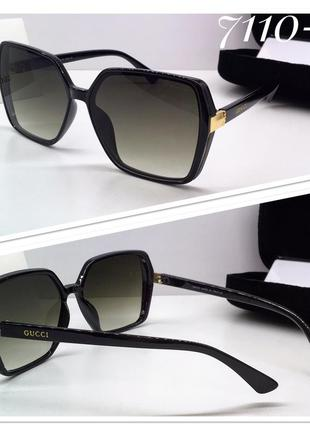 Новинка 🔥 женские солнцезащитные очки классика квадраты черные